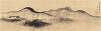 米南宫笔意 by wang shouren