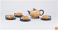 teapot set (set of 5) by jiang rong
