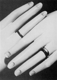 mourning rings by ernst gersdorff