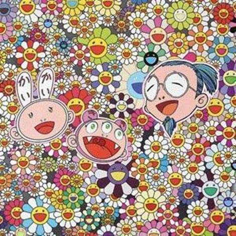 太阳花 sun flower by takashi murakami