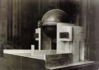 model of beethoven monument by franz linkhorst