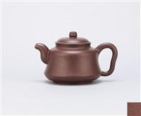 teapot with a bell shape by gu jingzhou