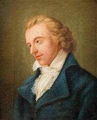 porträt friedrich schillers by ludovike von reichenbach