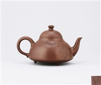bell shaped teapot by zhou guizhen