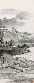 山水 (landscape) by luo buzhen