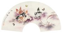 戏蝶图 by liu jiwei
