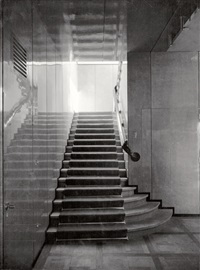 interior view, staircase by adolf lazi