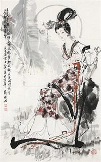 唐人诗意图 by xue linxing