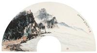 蓬莱仙阁游春图 by xu rong