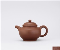 piled-ball shaped teapot by xu weiming