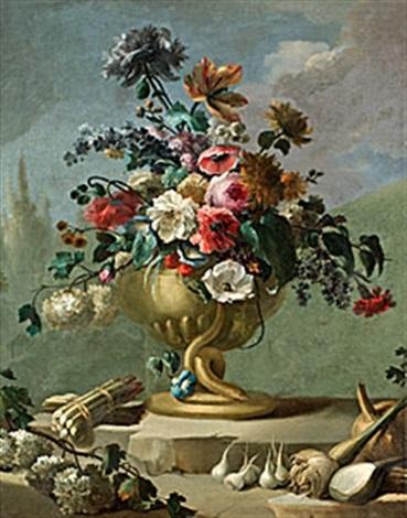 blommor i urna
