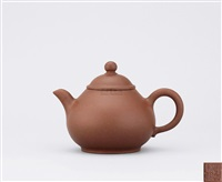 pear shaped teapot by xu yanchun