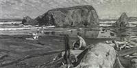 mendocino coast by justin faivre