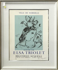 elsa triolet by marc chagall