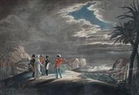 napoleon auf st. helena. napoleon dans l'ile ste. hélène by johann lorenz rugendas the younger
