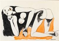 desnudo by oswaldo guayasamín