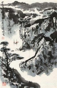 曲江清夏 by liu baochun
