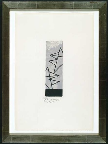 ciel gris i by georges braque