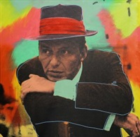 mr. entertainer, frankly frank, vegas crooner and chairman of the board (sinatra, the legacy suite)(lot of 4 works) by steve kaufman