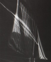 ship sail abstraction by carlotta m. corpron