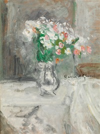 vase de fleurs by hassan el glaoui