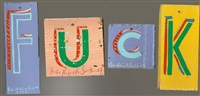 f-u-c-k by bob and roberta smith