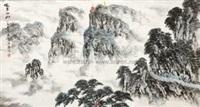 峨眉仙山 by ma xinghai