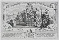 vorbildungen von missbrauch des rechten. litis abusus (portfolio of 8) by gottfried bernhard goetz