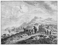 rheinlandschaft (after herman saftleven) by jan van aken