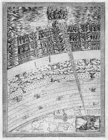 himmelskarte mit der offenbarung des hl johannes by nicolaus van aelst