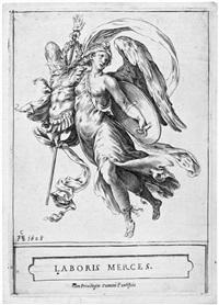 laboris merces (allegorie des sieges) by cherubino alberti