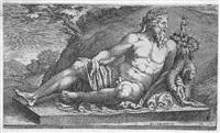 personifikation des flusses nil by cherubino alberti