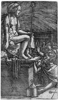die rache des zauberers vergil oder: die römische kurtisane by albrecht altdorfer