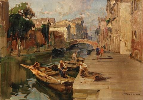 a venetian backwater by angelo brombo
