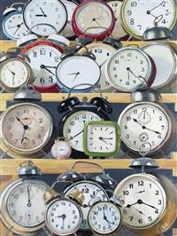 表·白 (clocks·white) by liu zhonglong