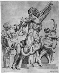 die laokoon-gruppe (after andrea vaccario) by sisto badalocchio