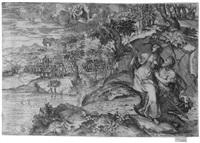 die tiburtinische sibylle zeigt kaiser augustus die erscheinung der madonna mit dem kind by marco angolo del moro