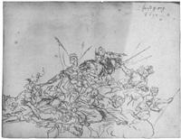 allegorie auf die vier erdteile by hans georg asam