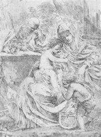 die heilige familie by francesco amato