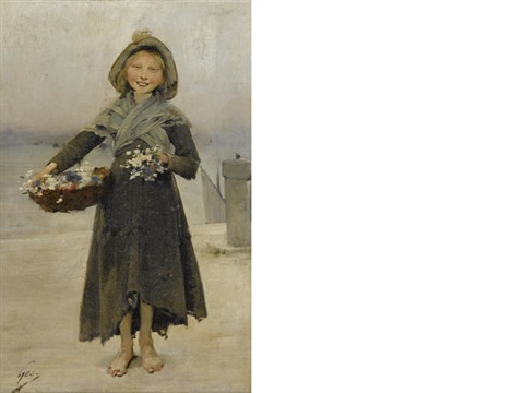 blossoms by henry jules jean geoffroy