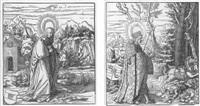 die heiligen aus der sipp-, mag- und schwägerschaft des kaisers maximilian i by leonhard beck