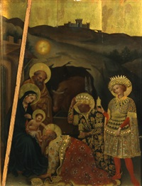 the adoration of the magi by francesco di gentile da fabriano