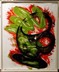 snake cup by elizabeth murray