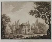 tempel der vesta (from ansichten des herzoglich württembergischen landsitzes hohenheim) by victor-wilhelm-peter von heideloff