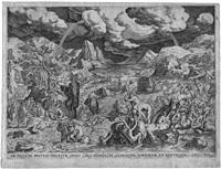 landschaften mit der geschichte der arche noah (portfolio of 3) by hans bol