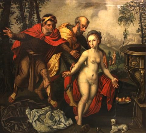 susannah and the elders by vincent sellaer