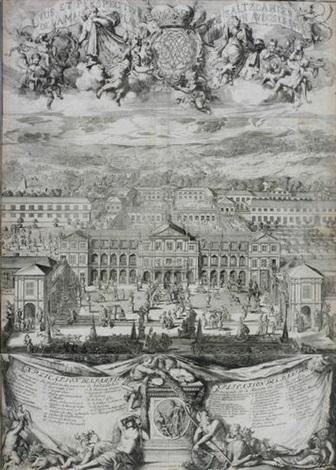 vue et perspective de saltzdahlen by romeyn de hooghe