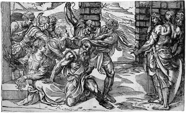 die gefangennahme samsons by niccolo boldrini