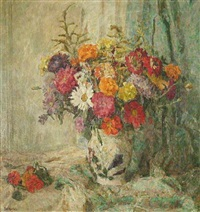 a bouquet of summer flowers by fritz ernst rentsch