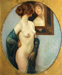 the looking glass by auguste leroux